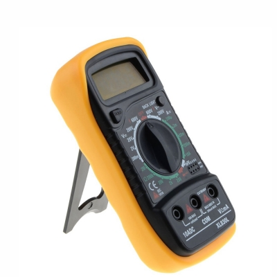 XL830L Digital Multimeter DC AC Current Volt Voltage Meter Tester