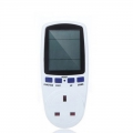 Digital Voltage Watt meter Calculator Power Analyzer Power UK Plug