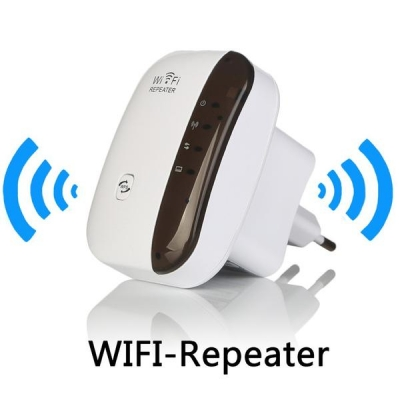 300Mbps Wireless-N WiFi Repeater AP Signal Extender Booster 802.1