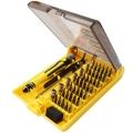 45 in 1 Handphone Mobile Phone Computer Repair Hand Tool Box Set Kit