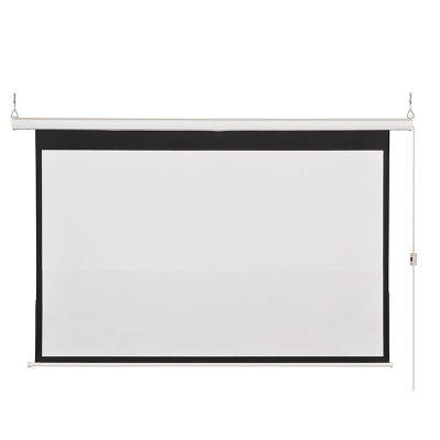 "100"" Electric Projector Screen (Motorized) 4:3 Standard"