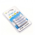 PALO 1.2V 4 pcs x AAA 1100mAh Ni-MH Rechargeable Battery