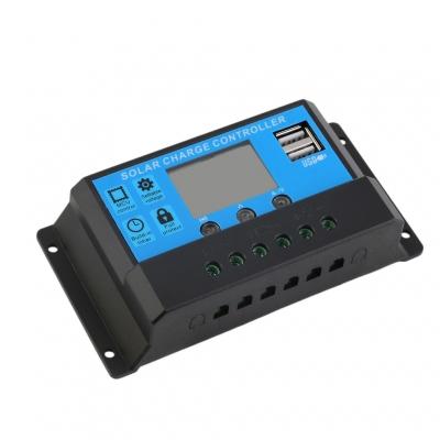 12V/24V Solar Panel Battery Charger Charging Controller Regulator