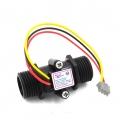 "YF-S201C G1/2"" Hall flow Water flow meter sensor ( I Model Black)"