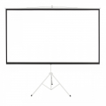New 100 inch Portable Foldable Projector Screen with Tripod Stand 4:3