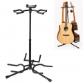 ​Triple Guitar Stand Folding Multiple 3 Guitar Rack Holder