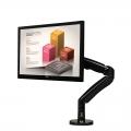 NB F100A 22 to 35 Inch Gas Strut TV Monitor Bracket Holder Mount USB