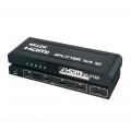 HDMI Splitter 1080p 4K 2K 3D 1 in 4 out 1x4 Full HD  (2656)