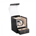 Piano Gloss 2+0 Safe Automatic Rotation Watch Winder Box with Drawer