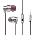 Earphone Stereo Super Bass With Microphone (Gift Box)