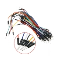 Arduino IoT Breadboard Jumper Wire 1P-1P Male to Male Pack (65pcs)