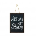 Medium Framed Double-sided Hanging Chalkboard 50x70cm