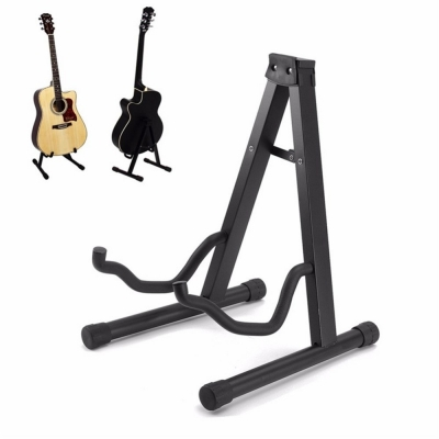 Foldable Guitar Stand for Acoustic, Classical, Electric or Bass Guitar