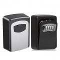 4 Digit Combination Key Safe Lock Storage Box Wall Mounted