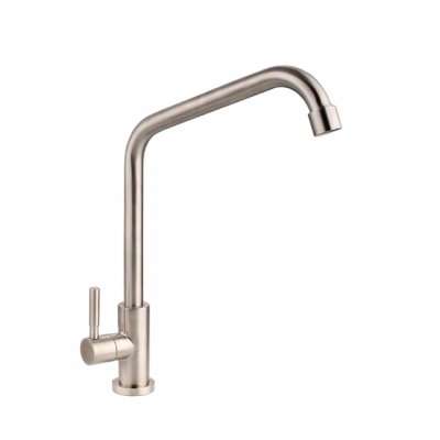 Kitchen Faucet SUS304 Stainless Steel Single Lever Cold Tap (2793)