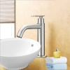 SUS 304 Stainless Steel Basin Sink Faucet Tap Deck Mounted (2798)
