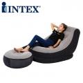 INTEX 68564 Ultra Lounge Inflatable Single Air chair sofa