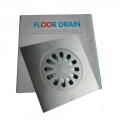 Floor Drain 15cm 2 layer Anti Odour Stainless Steel