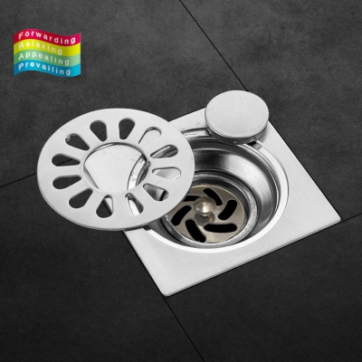 Floor Drain 15cm 3 layer Anti Odour [Dual Use] Stainless Steel