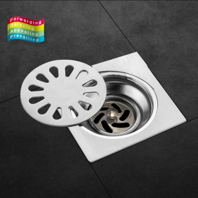 Floor Drain 15cm 3 layer Anti Odour Stainless Steel