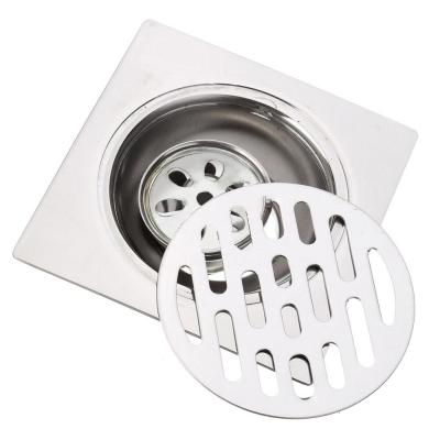 Floor Drain 10cm 3 layer Anti Odour Stainless Steel