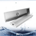 Long Floor Drain 50cm [Square] Anti Odour Stainless Steel 304