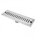 Long Floor Drain 20cm [Square] Anti Odour Stainless Steel 304