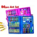 86 pcs Kids Painting Water Pen Crayon Drawing Art Set Colour Pencil