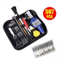 507 Pcs Professional Watch Repair Kit Spring Bar Tool Kit Set Remover