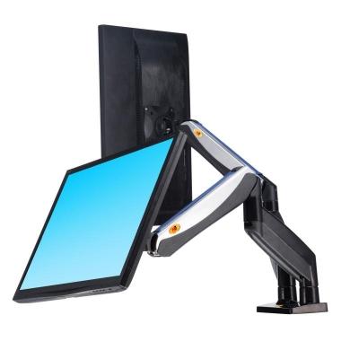 NB F185A 22 to 27 Inch TV Monitor Desktop Bracket Mount USB Port