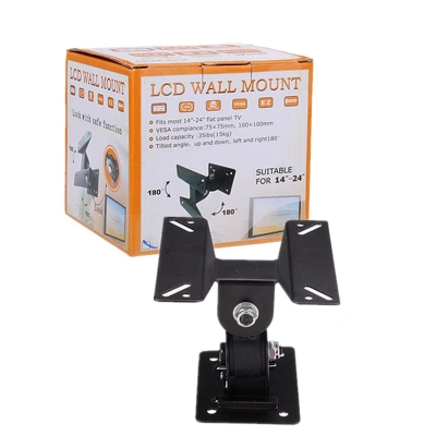 """LCD TV Monitor Wall Mount Bracket 14-24"""" Adjustable [Stand Holder"""