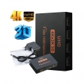 4K 3D HDMI Splitter for TV Monitor Laptop 1 In 4 Out TV Extend