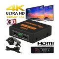 4K 3D HDMI Splitter UHD for TV Monitor Laptop 1 In 2 Out TV Extend