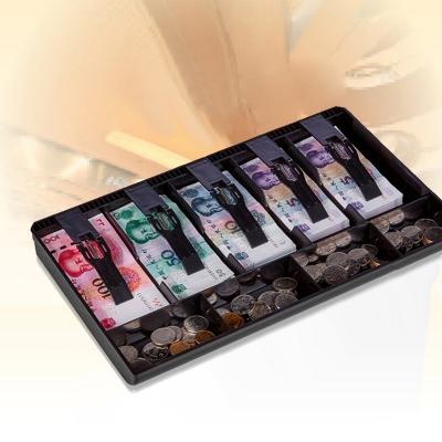 Cash Drawer Insert Tray Replacement 5 Bills 4 Coins Money Storage Box