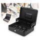 Portable Cash Drawer Lock Petty Cash Box - Cashier Drawer Storage