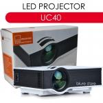 UNIC UC40 LED Projector 800 Lumens 130' Super Bright