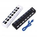 USB HUB 3.0 Super Speed 5Gbps 7 Ports USB 3.0 HUB USB Splitter