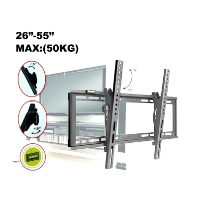 ADJUSTABLE TV WallMount 32-70 inch LED LCD Bracket