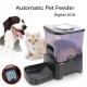 Pet Automatic Food Dispenser Large Pet Feeder Programmable 10L -Black