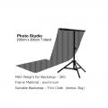 T Shape Portable Photo Studio Background Backdrop Stand Kit 200cm