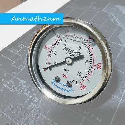 Pressure Gauge 10Bar 150PSI Import Grade Anmathenm EN837-1