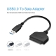USB 3.0 to SATA Adapter Cable for 2.5 inch SSD/HDD Drives to PC