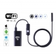 Wireless Wifi Endoscope Camera Waterproof 8mm Lens HD 720P 5M