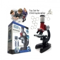 Kids Science Microscope 100x 400x 1200x Toy Set for Early Education