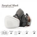 7 pcs Suit Respirator Painting Spraying Face Gas Mask 6200 6001 5N1