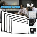 Projector Curtain 60/100/120 inch 16:9 Portable Projector Screen