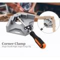 High Grade 90 Degree Aluminium Right Angle Corner Clamp Swing Jaw Tool