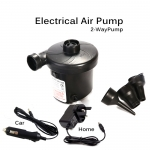 Air Pump Electric Inflatable Air bed Pump, (2 Ways) Car And Home Use