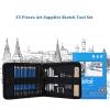 HB H&B 35 pcs Set Professional Drawing Sketch Color Pencil Kit