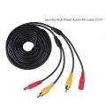 20m Security RCA Power Audio Video AV Cable CCTV Camera